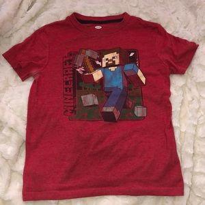 Boys Minecraft shirt